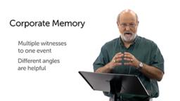 Corporate and Individual Memory