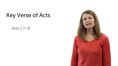 The Structure and Key Verse of Acts