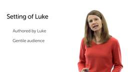 The Setting of Luke
