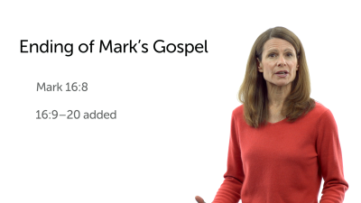 The Ending of Mark