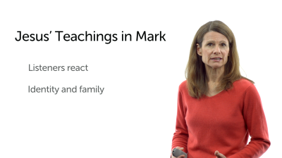 Jesus' Teachings in Mark