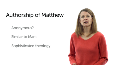 The Authorship of Matthew