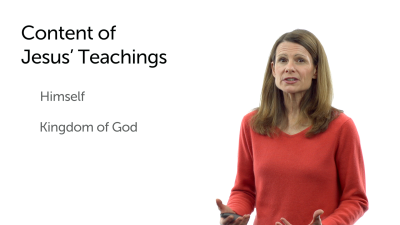 The Content of Jesus' Teachings
