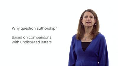 Authorship Question
