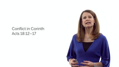 Visit to Corinth