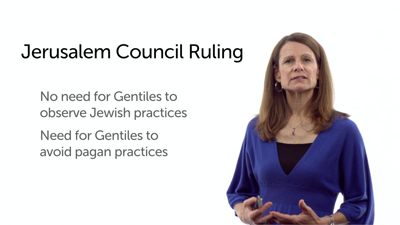 Jerusalem Council and the Law