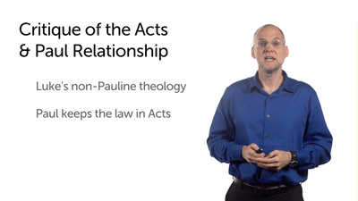 History in Acts and in Paul's Letters