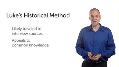 Luke's Historical Method