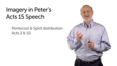 Peter's Council Speech