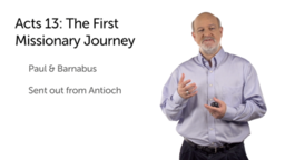 The First Missionary Journey