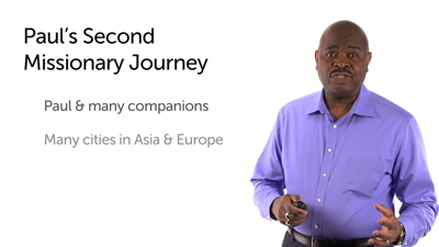 Second Missionary Journey