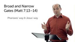 Inside-Outside Issues (Matt 7:13–23)