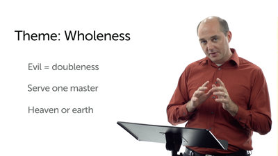 Double-Mindedness and Anxiety (Matt 6:19–34)