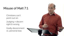 Judging Others (Matt 7:1–12)