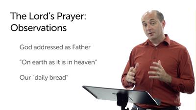 The Lord's Prayer (Matt 6:7–15)