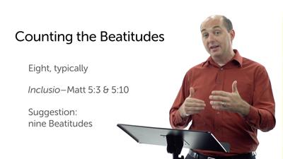 Introducing the Beatitudes (Matt 5:1–12)