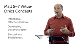Virtue Ethics and the Sermon on the Mount: Comparisons