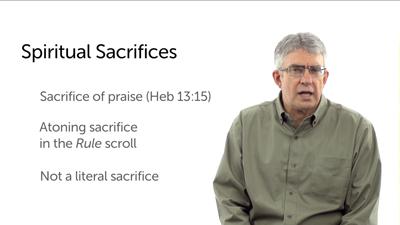Spiritual Sacrifice