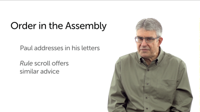 Order in the Assembly