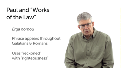 """Paul and Qumran: """"Works of the Law"""""""