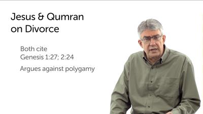 Qumran on Divorce and Monogamy