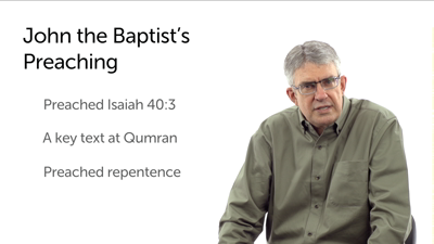 John the Baptist: Part 1