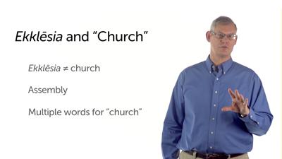 """Church"" in the New Testament"