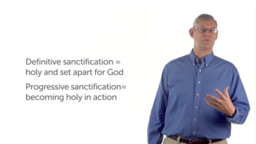The Shape of the Christian Life: Sanctification