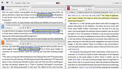 Comparing Bible Translations of Galatians 5:5