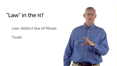 The Law in the New Testament
