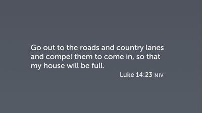 Invitation to the Kingdom of God