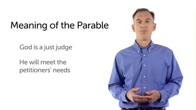 Prayer and the Unjust Judge