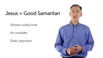 Jesus' Role in the Parable of the Good Samaritan