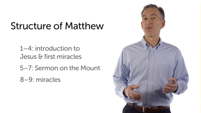 The Structure of Miracles in Matthew