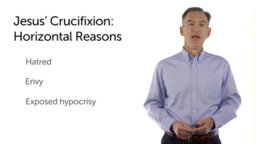 The Necessity of the Crucifixion