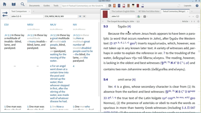 Exploring the Textual Variant in John 5:3–5