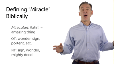 "Defining ""Miracle"""