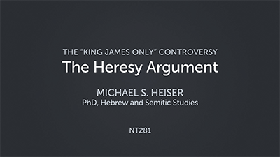 The Heresy Argument