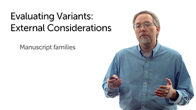 Evaluating Variants: External Considerations