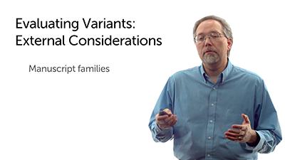 Evaluating Variants: External Considerations
