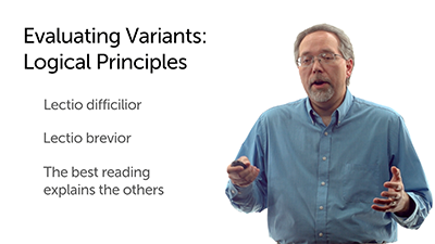 Evaluating Variants: Logical Considerations