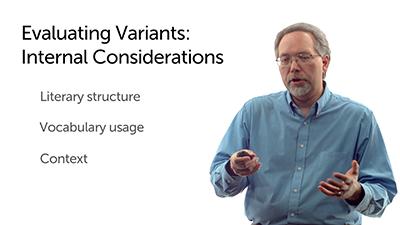 Evaluating Variants: Internal Considerations