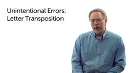 Unintentional Variants: Transposition