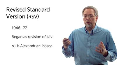 The Revised Standard Version
