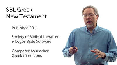 SBL Greek New Testament