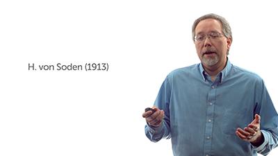 H. von Soden's Text (1913)