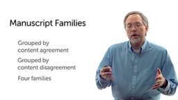 Manuscript Families