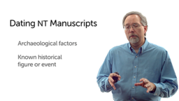 Archaeological Factors in Dating Manuscripts