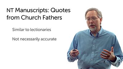 Quotations from the Fathers