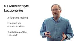 Lectionaries